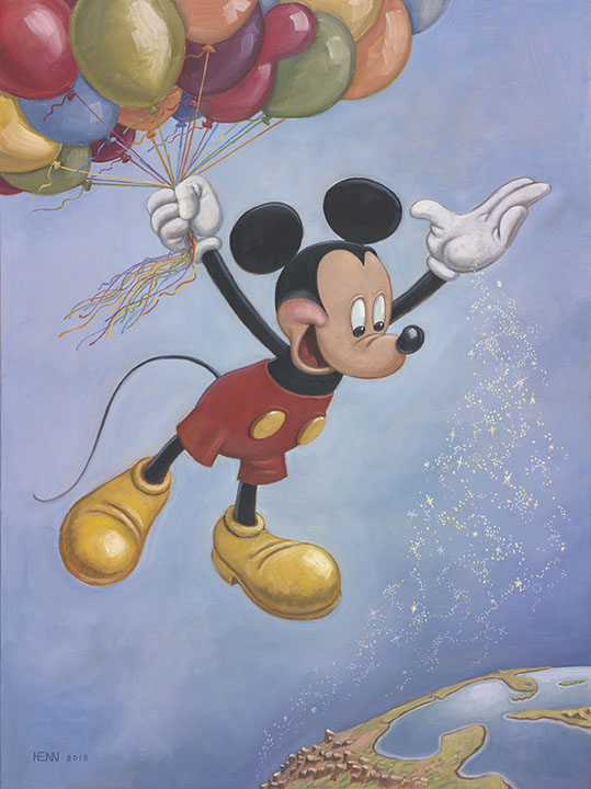 Mickey's Official Birthday Portrait Unveiled 1