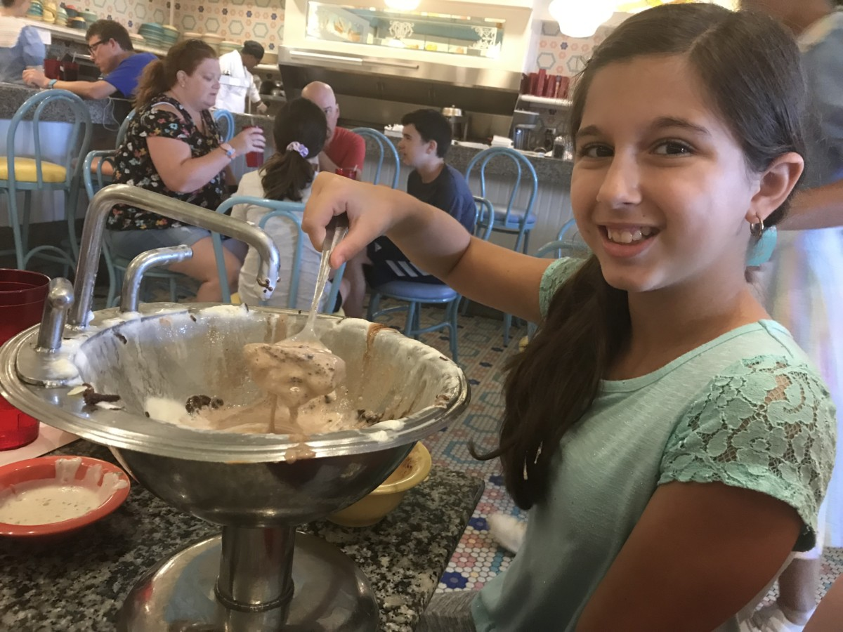 Tackling the Kitchen Sink at Beaches and Cream 5