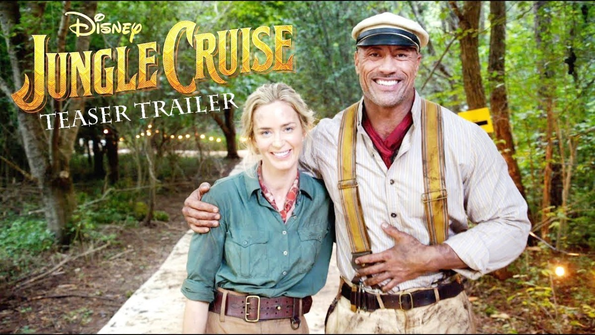 Disney Releases 'Jungle Cruise' Announcement Trailer 2