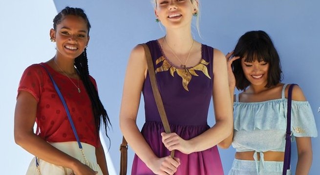 NEW Destination Disney Princess Line from Her Universe and Hot Topic! #DisneyStyle 1