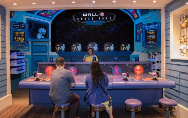 WALL•E Space Race