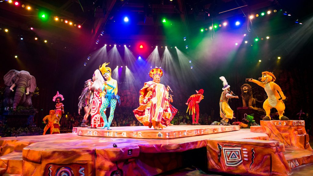 Festival of the Lion King at Disney's Animal Kingdom Theme Park