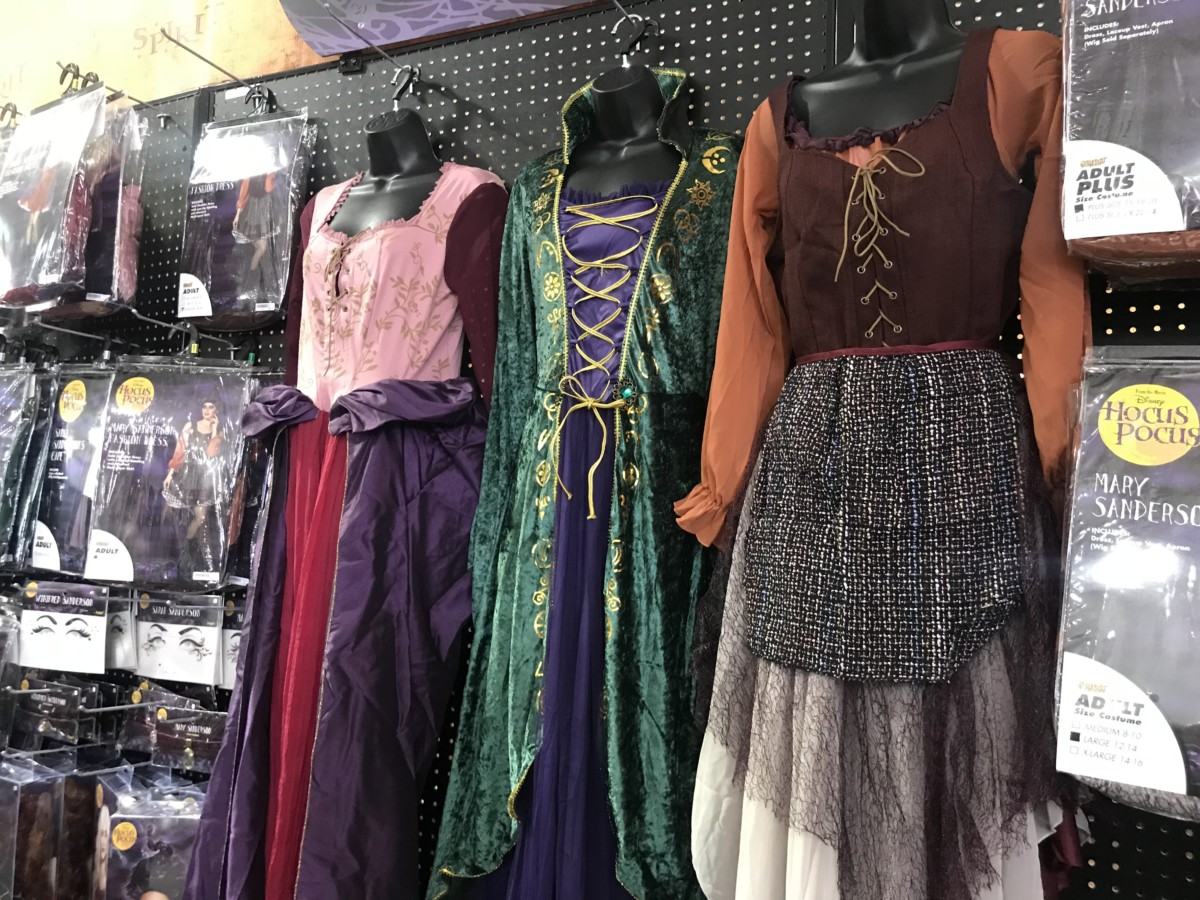the 25th anniversary of hocus pocus is this year and spirit halloween has extra costumes and accessories for the occasion take a look