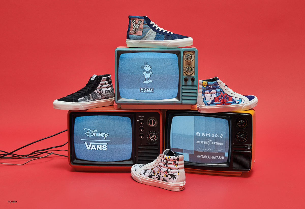 Vault by Vans Releases Four New Designs to Celebrate 90 Years of Mickey Mouse 2