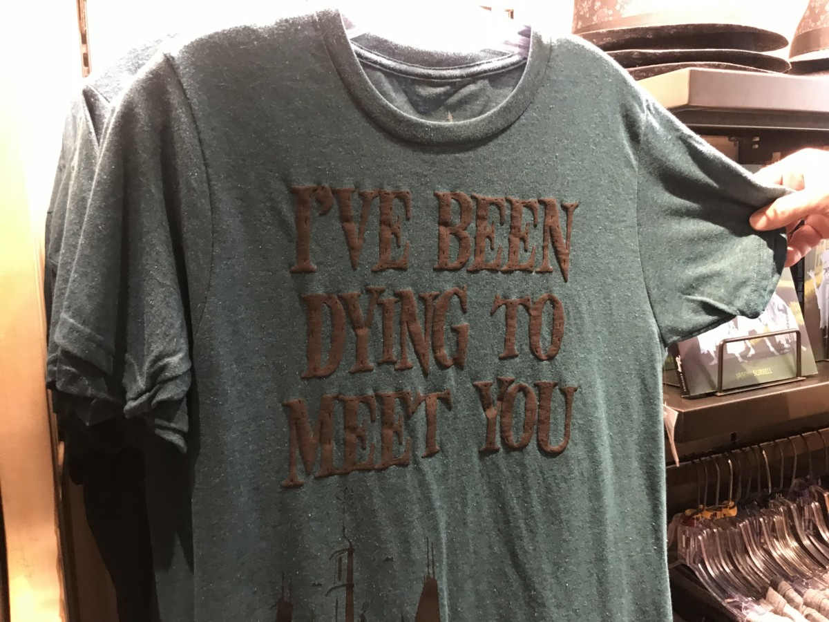 New Haunted Mansion Merchandise at Magic Kingdom 5