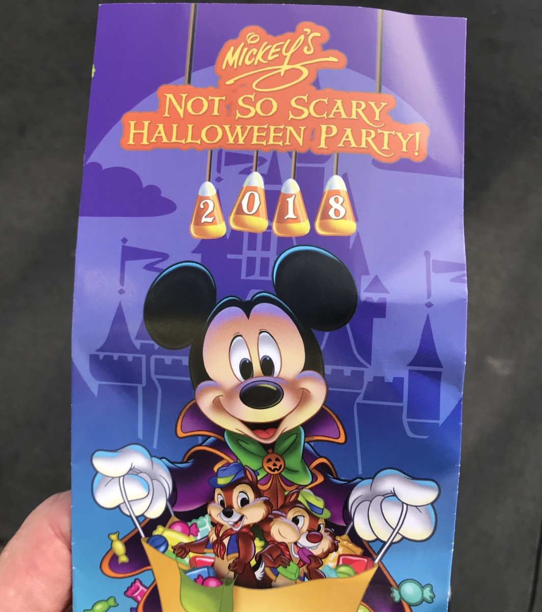 Mickey's Not-So-Scary Halloween Park Guide 2018 3