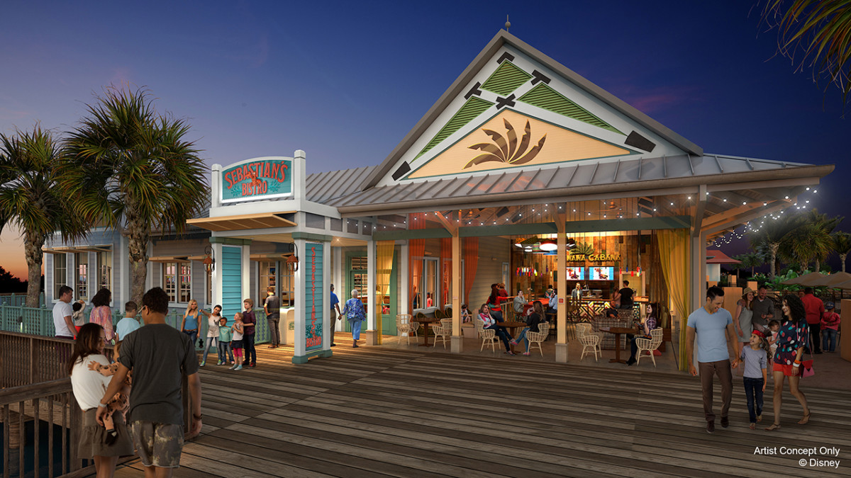 New Details Revealed for Dining Locations at Disney's Caribbean Beach Resort 3