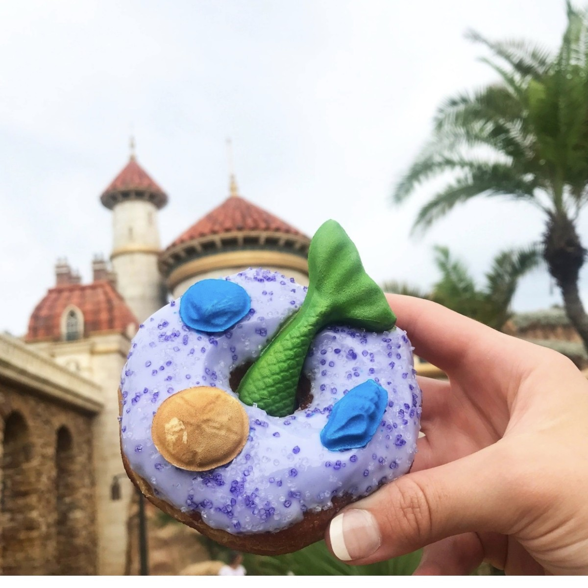 A Purple Mermaid Doughnut Is Flipping Its Way to Disney World! 19