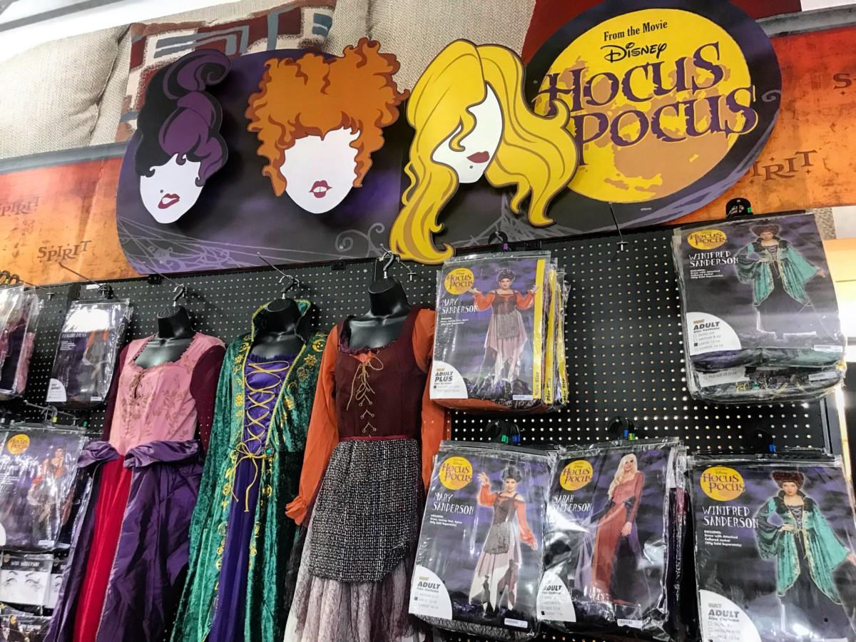 Run Amuck With Hocus Pocus Merchandise at Spirit Halloween 1