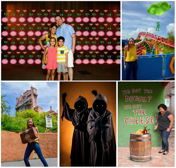 Photopass photo opportunities at Disney's Hollywood Studios