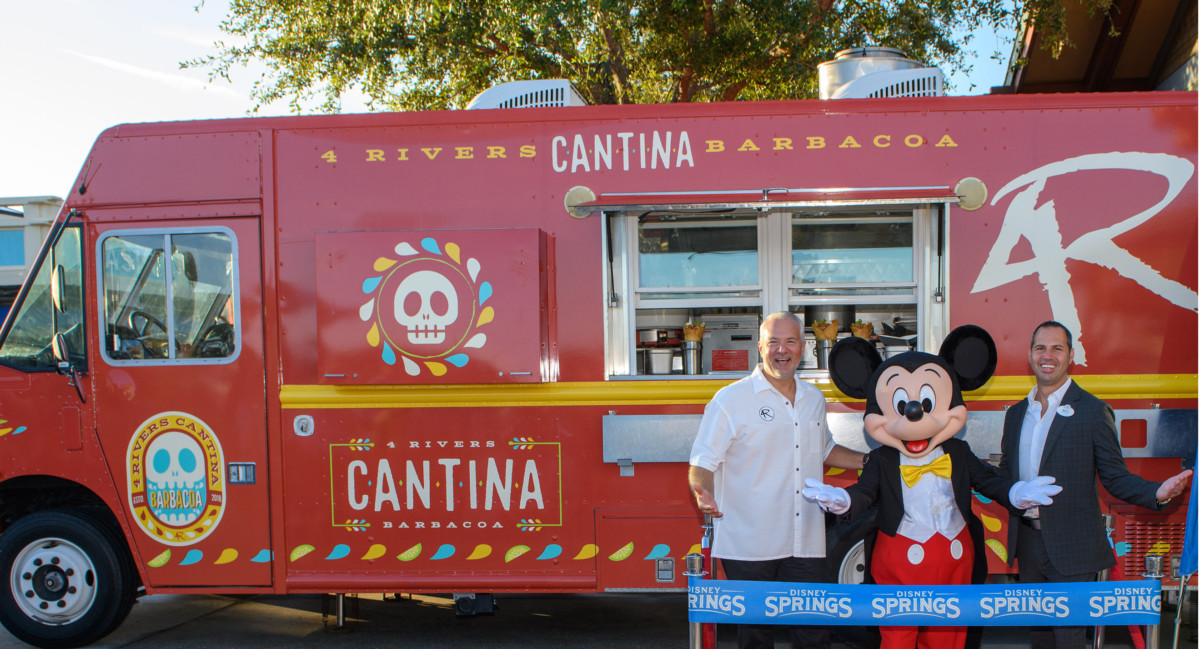 Get the Scoop on the New 4 Rivers Cantina Barbacoa Food Truck at #DisneySprings! 2