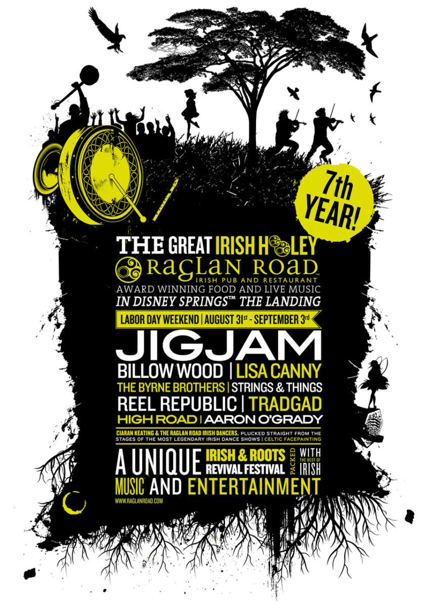 7th Annual 'Great Irish Hooley' Music Festival Rocks Labor Day Weekend at Raglan Road, Disney Springs 17