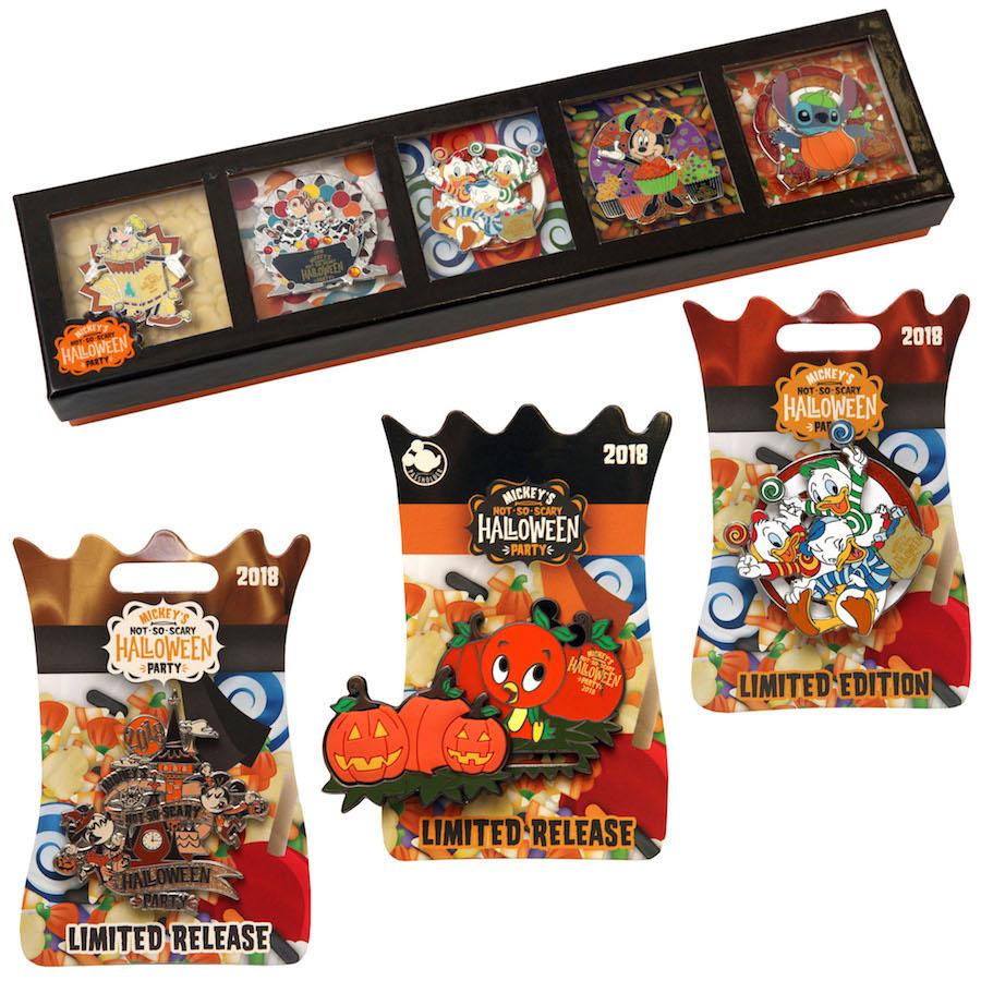 Halloween-Inspired Disney Pins