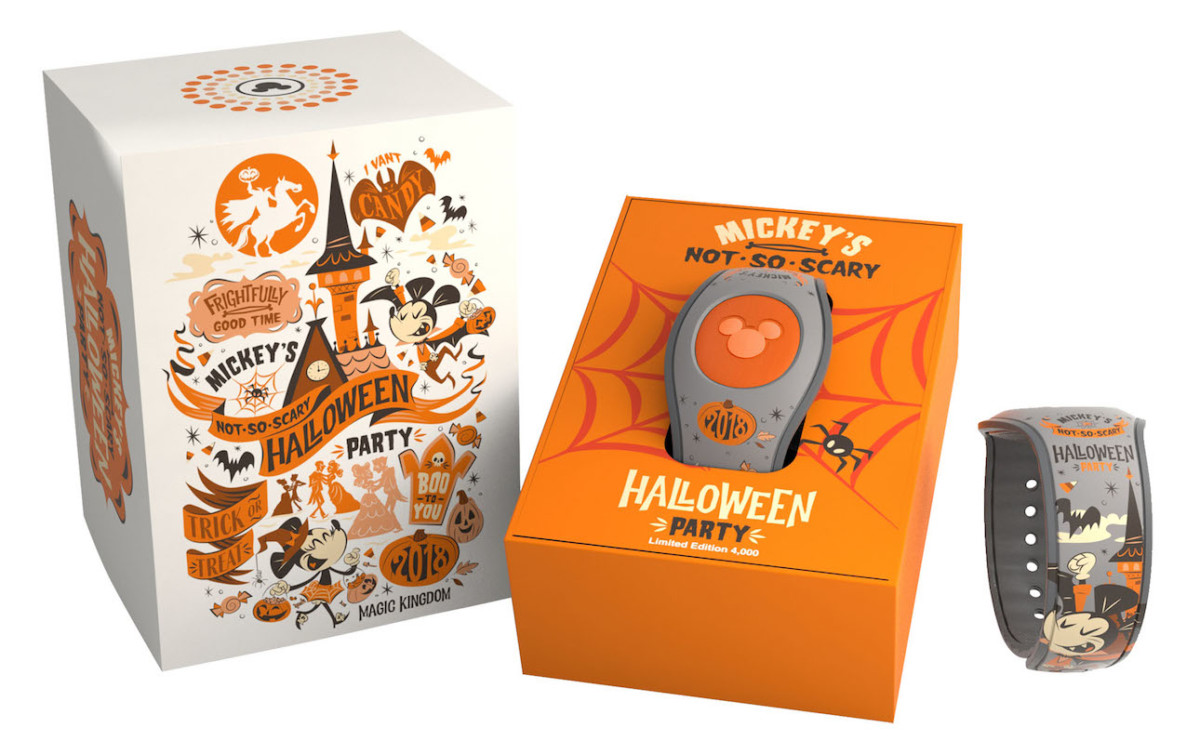 Mickey's Not-So-Scary Halloween Party MagicBand 2