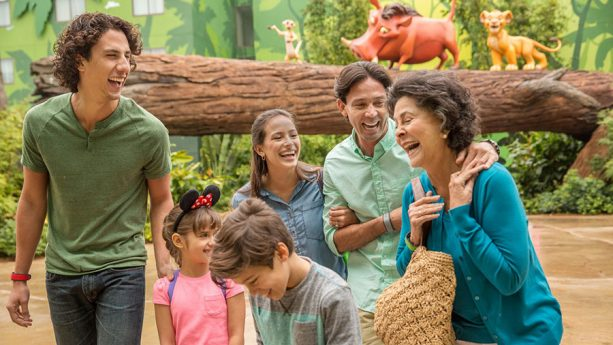 Family, together at Walt Disney World Resort