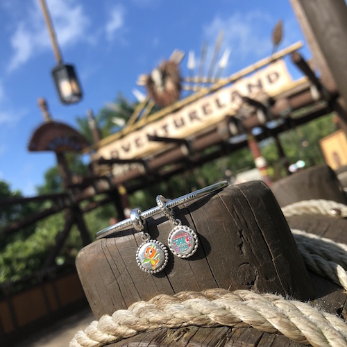 Orange Bird and Enchanted Tiki Room PANDORA Charms
