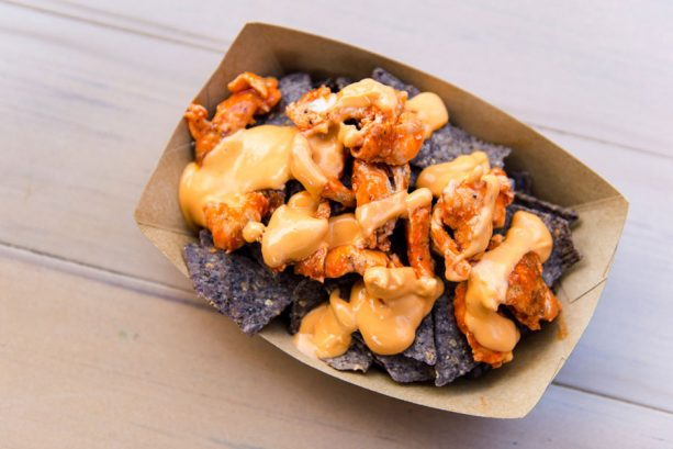 Hades Nachos at Pecos Bill Tall Tale Inn and Café for Mickey's Not-So-Scary Halloween Party at Magic Kingdom Park