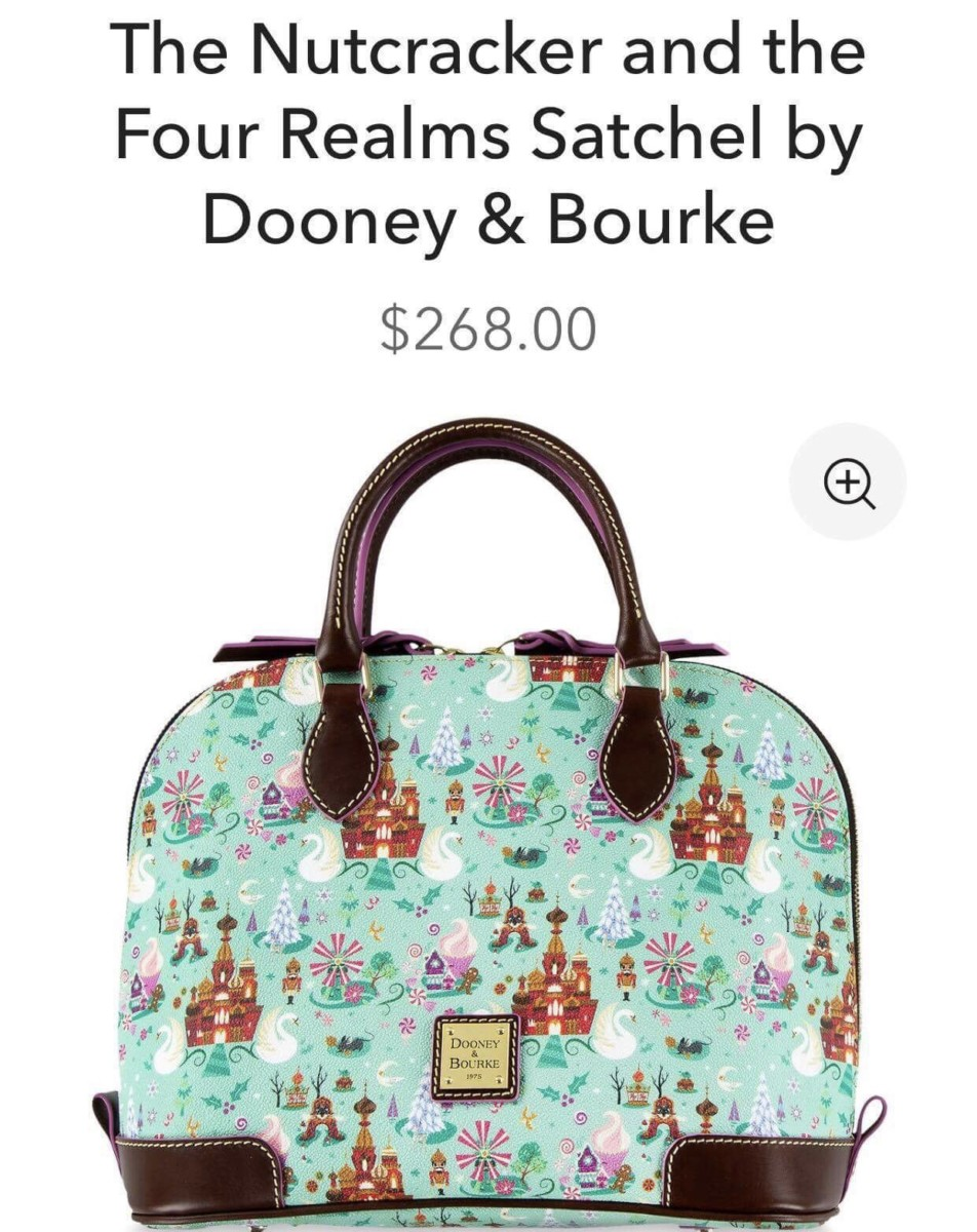 The Nutcracker and the Four Realms Dooney and Bourke Print! 1