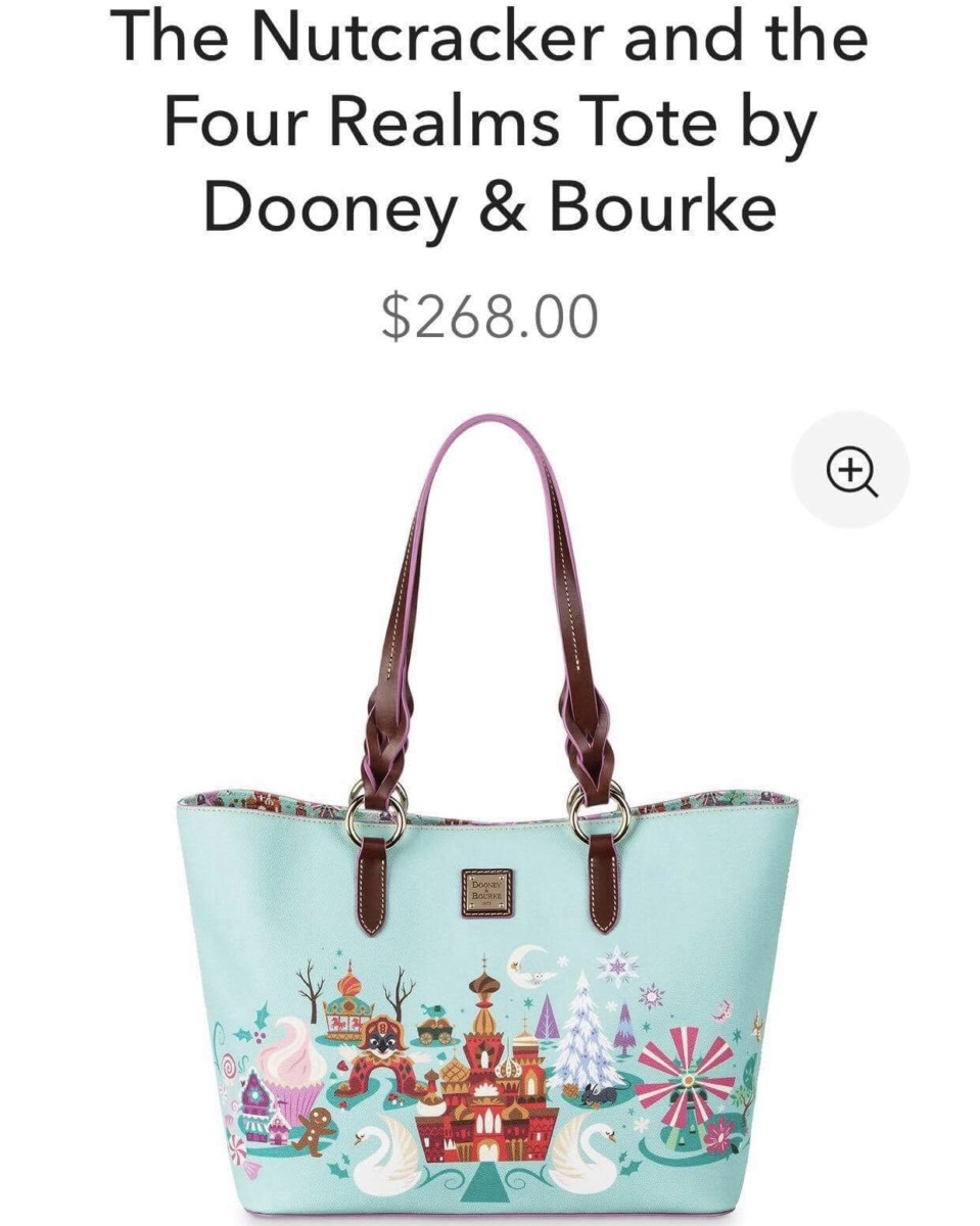 The Nutcracker and the Four Realms Dooney and Bourke Print! 4
