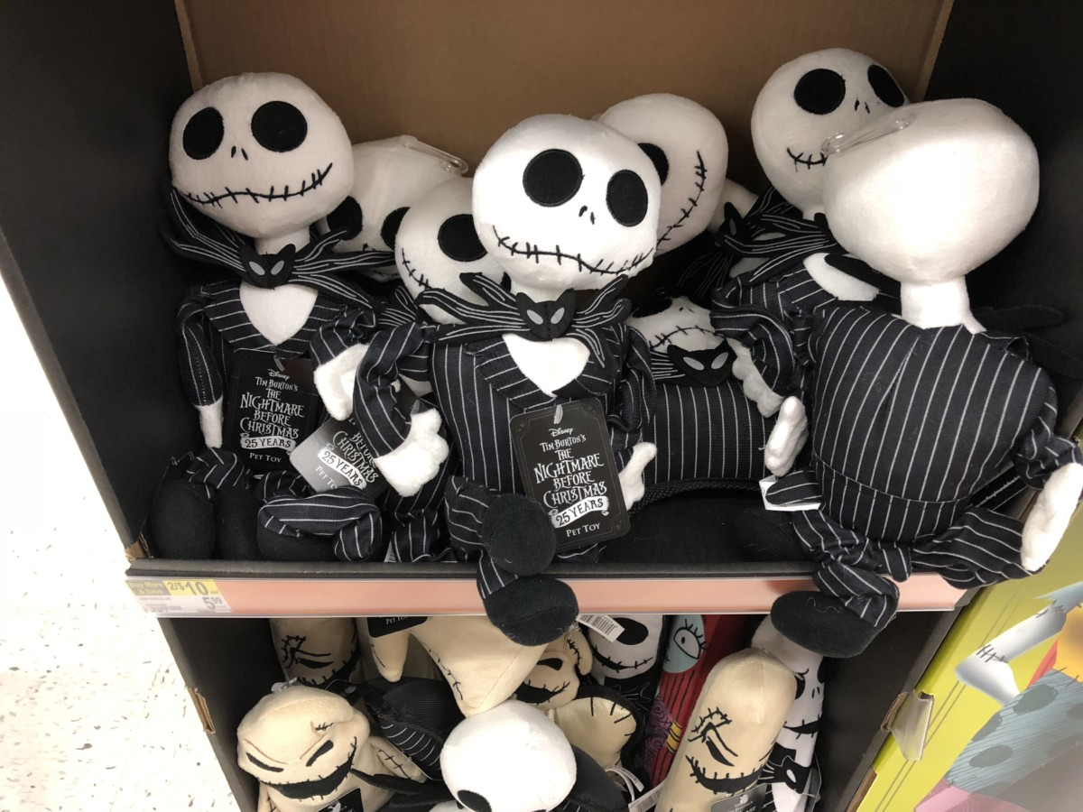 Nightmare Before Christmas Pet Toys At Walgreens