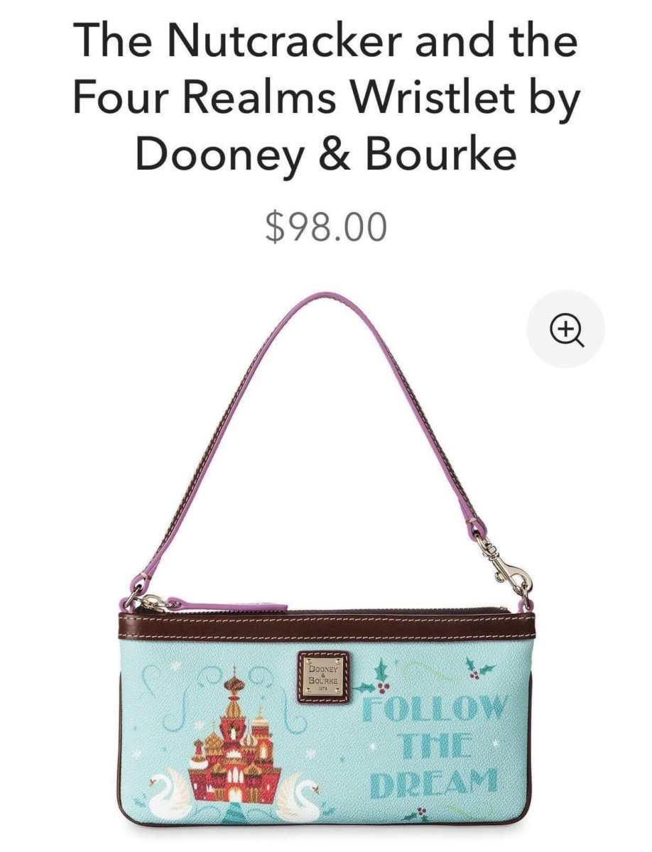 The Nutcracker and the Four Realms Dooney and Bourke Print! 2