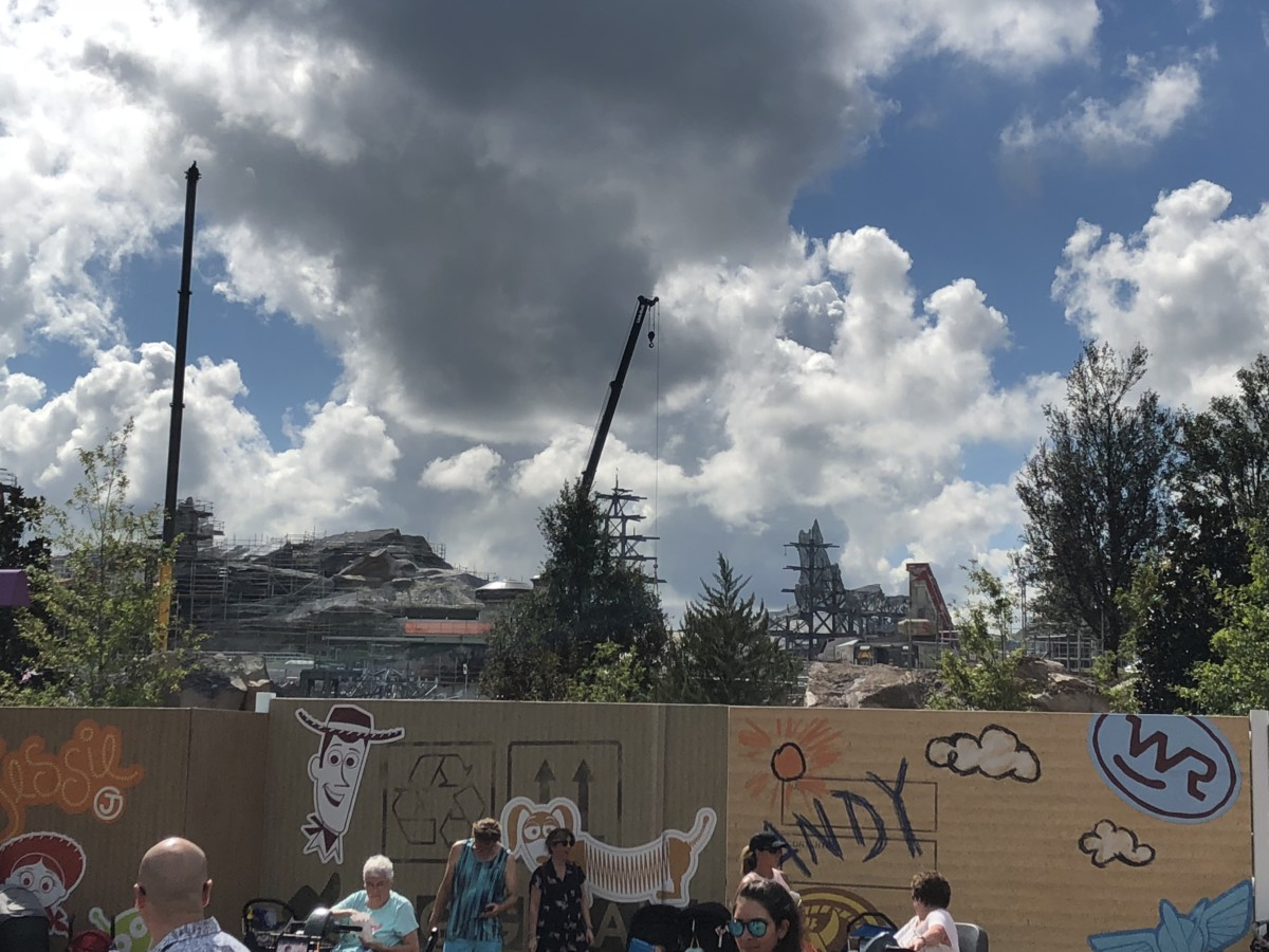 Construction Update for Hollywood Studios- Pics and Video 7
