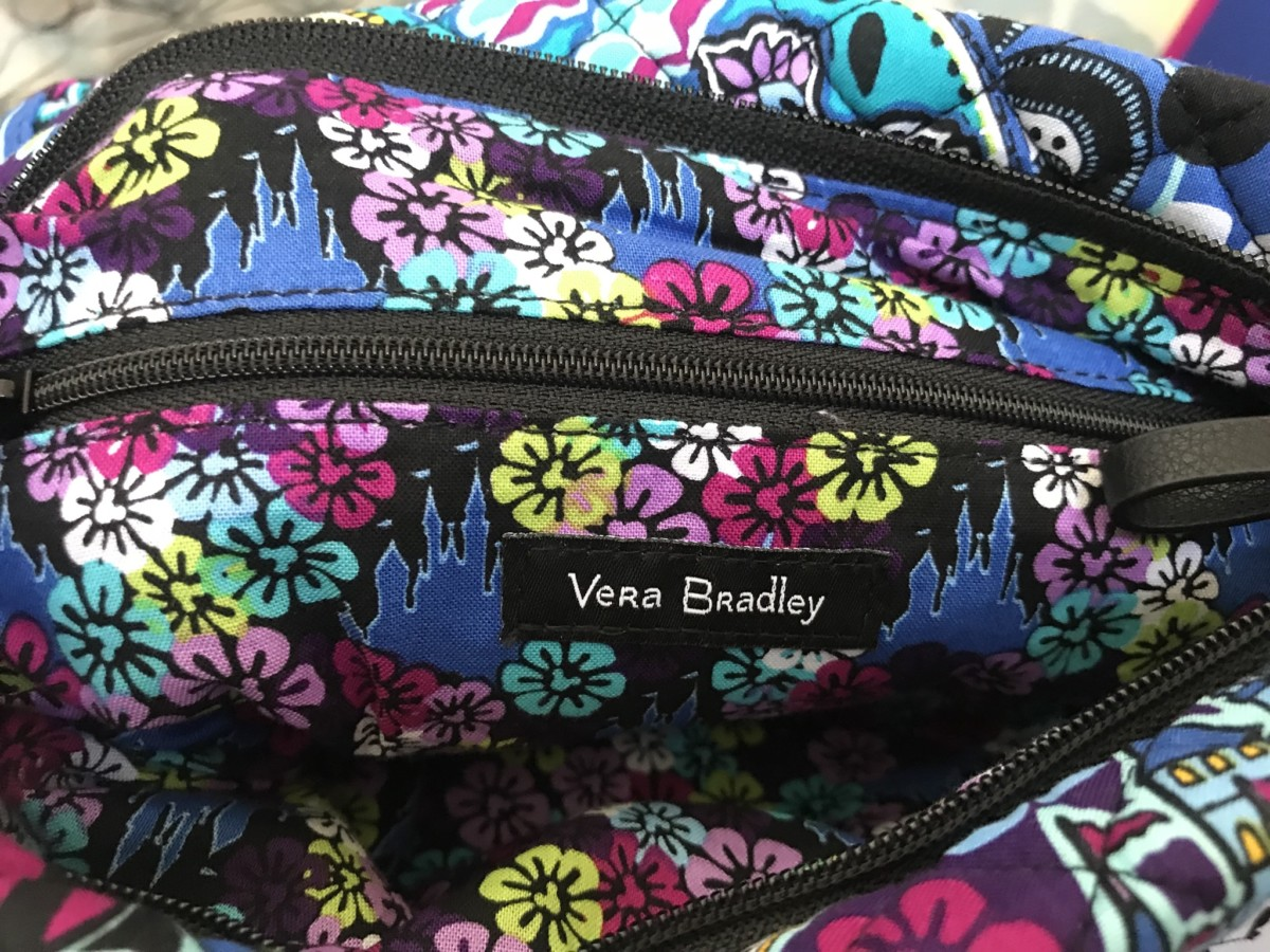 Vera Bradley Mickey's Paisley Celebration Collection 3