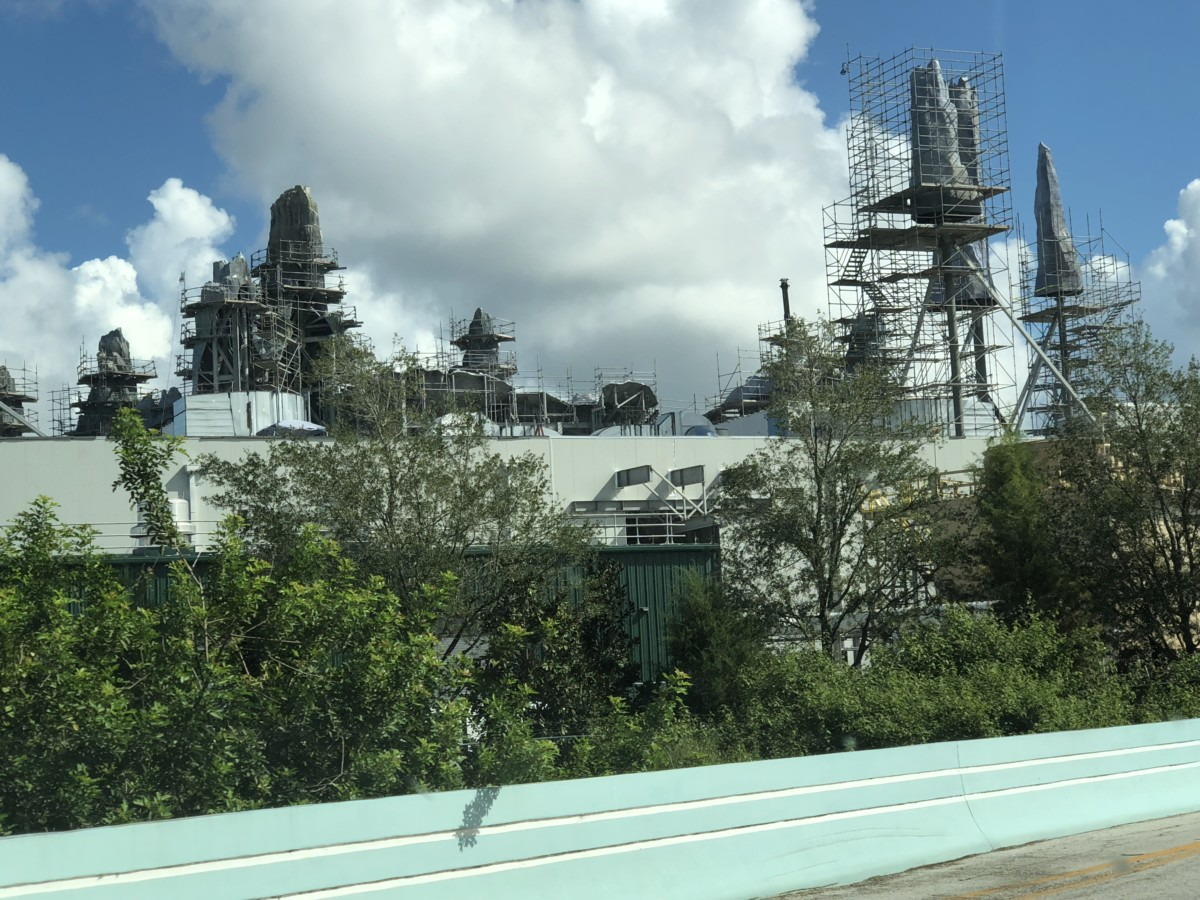 Construction Update for Hollywood Studios- Pics and Video 2