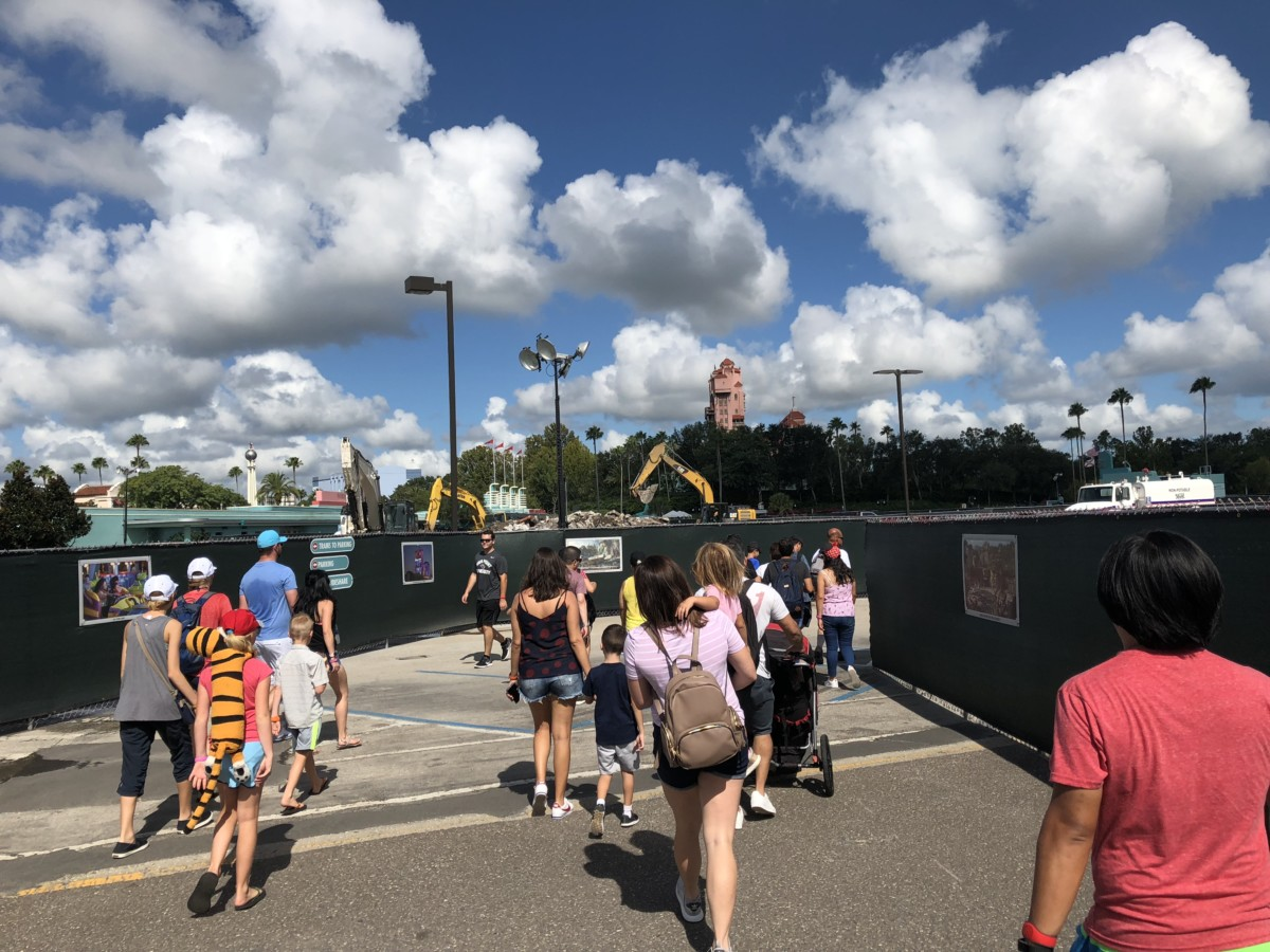 Construction Update for Hollywood Studios- Pics and Video 5