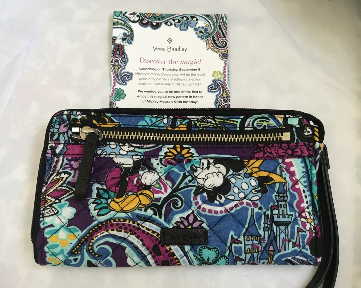 Vera Bradley Mickey's Paisley Celebration Collection 2