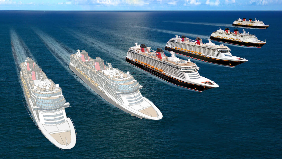 Two of three new Disney Cruise Line ships to call Port Canaveral home in new agreement 7