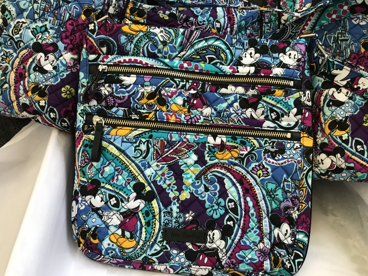 Vera Bradley Mickey's Paisley Celebration Collection 4