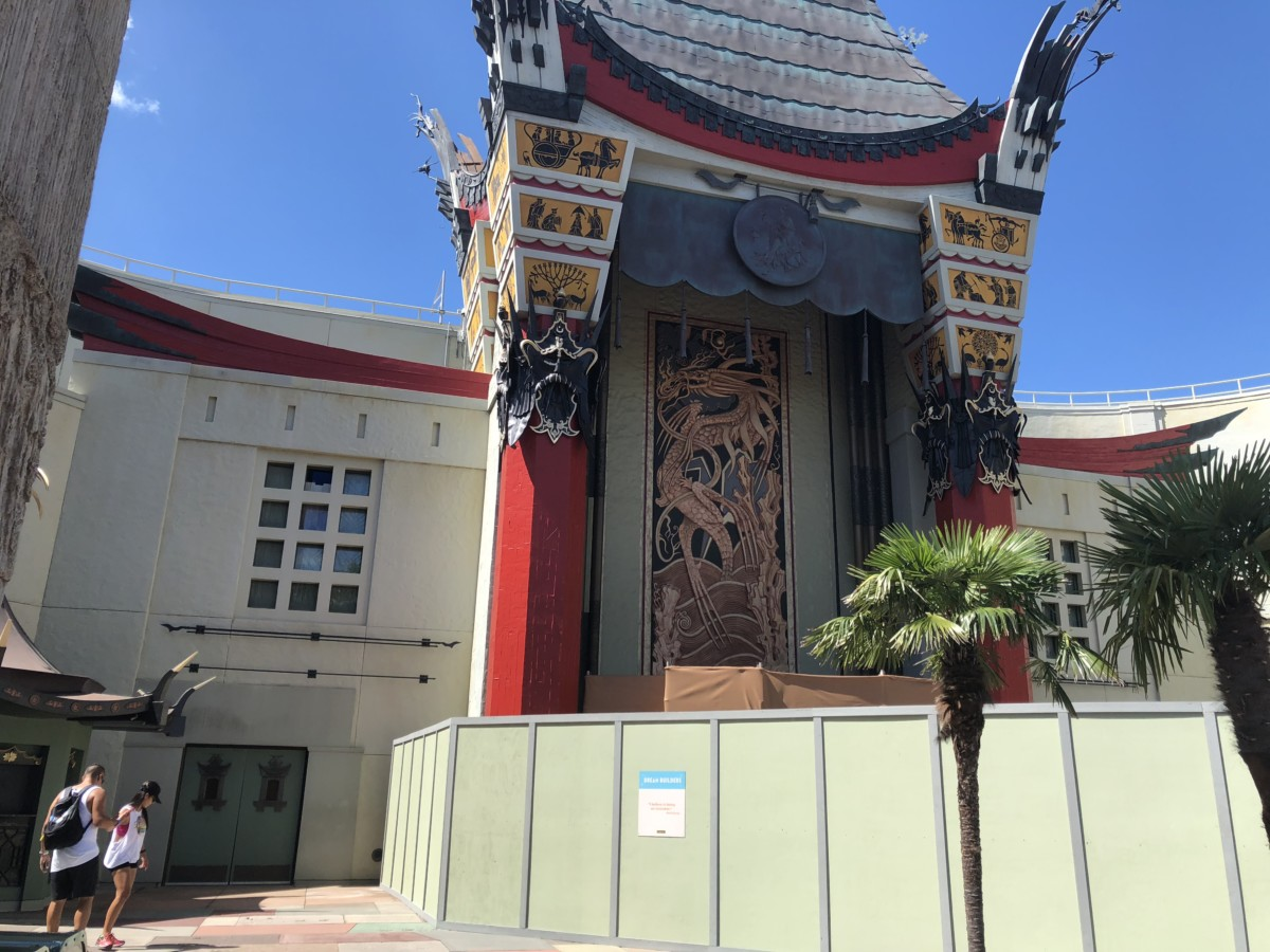 Construction Update for Hollywood Studios- Pics and Video 1