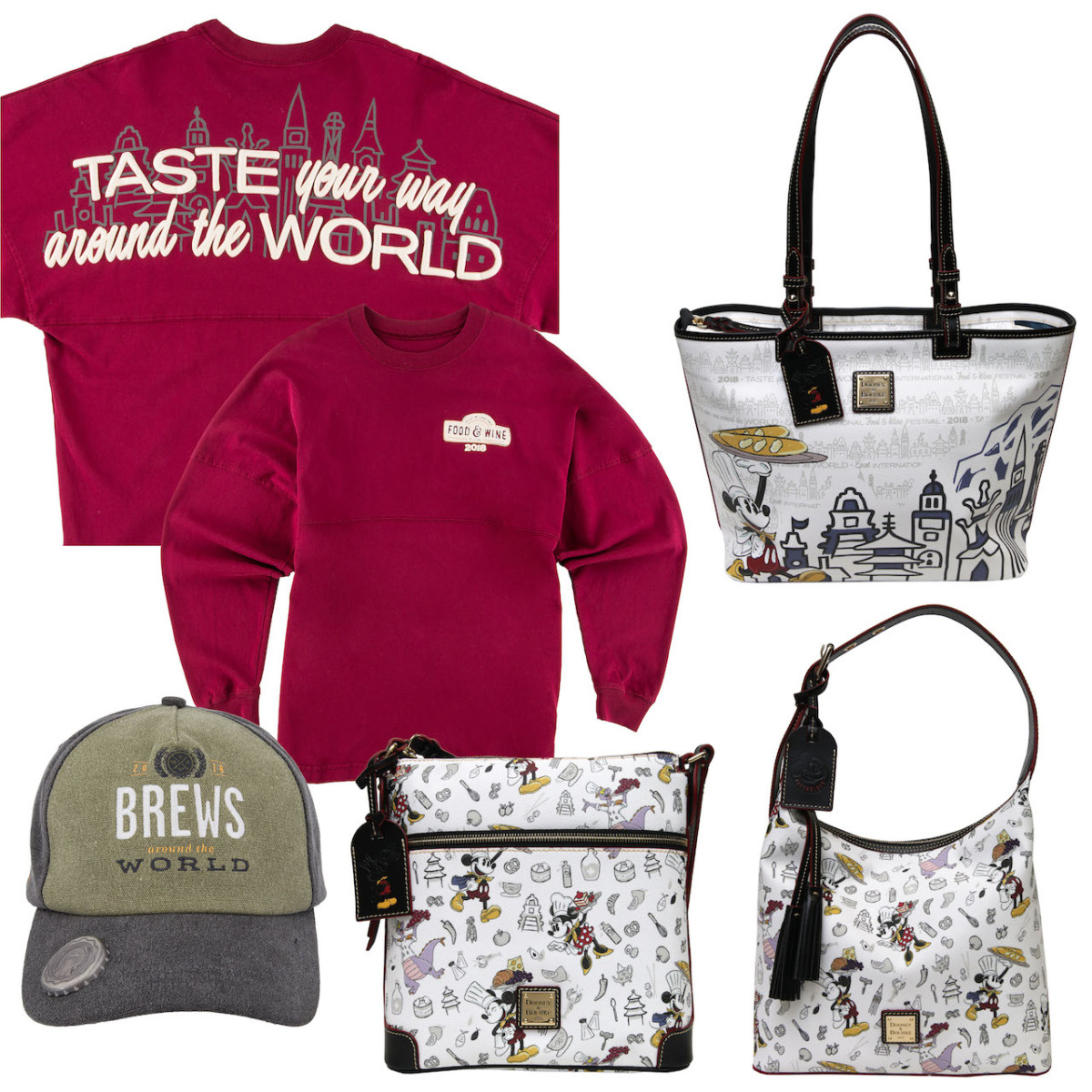 Commemorative Merchandise Mixes Function and Fun for the 2018 Epcot International Food & Wine Festival 5