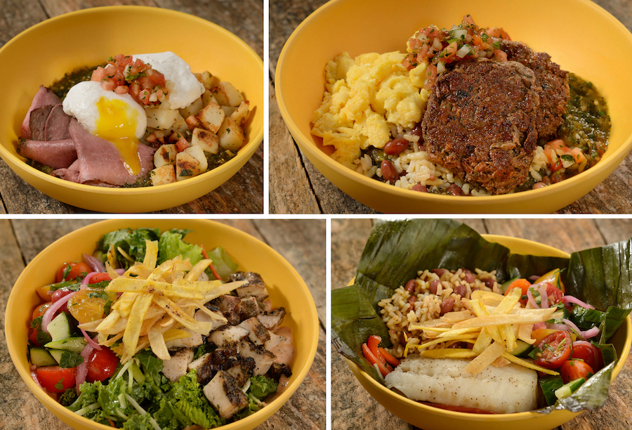 Customizable Island Bowls at Centertown Market at Disney's Caribbean Beach Resort