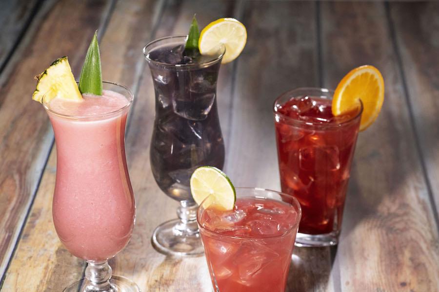 Beverages at Banana Cabana Pool Bar at Disney's Caribbean Beach Resort