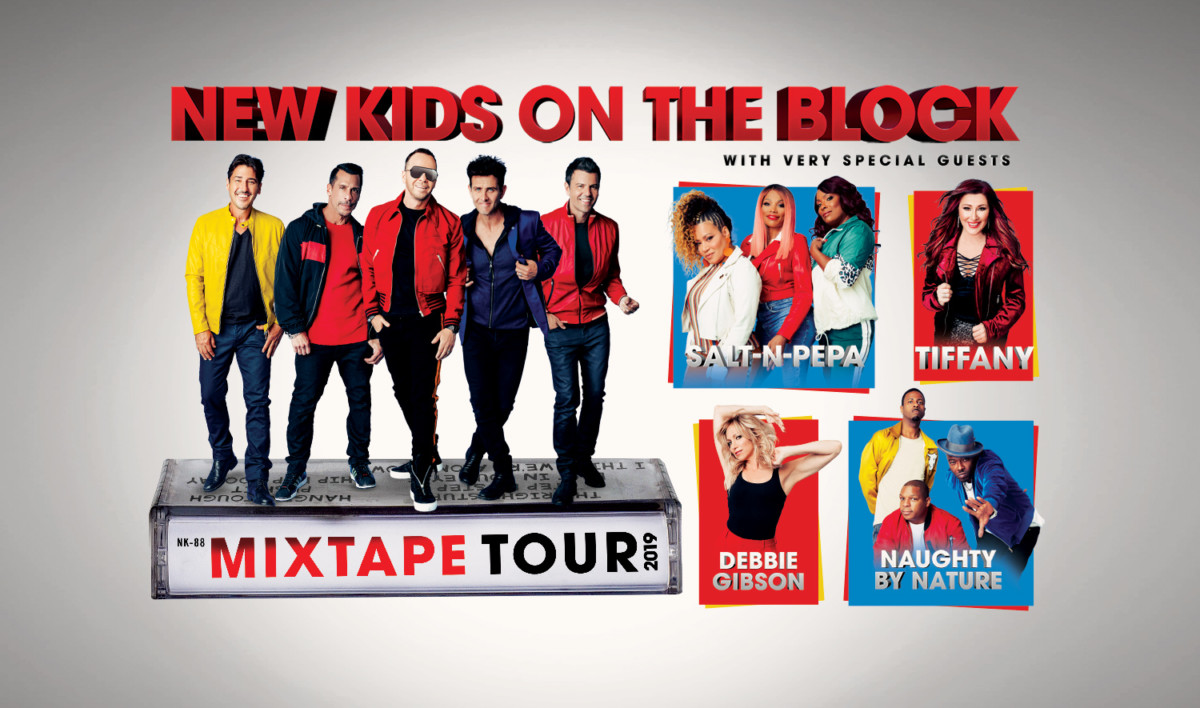NKOTB BRING THE MIXTAPE TOUR to the AMWAY Center In Orlando #OffTMSM 2