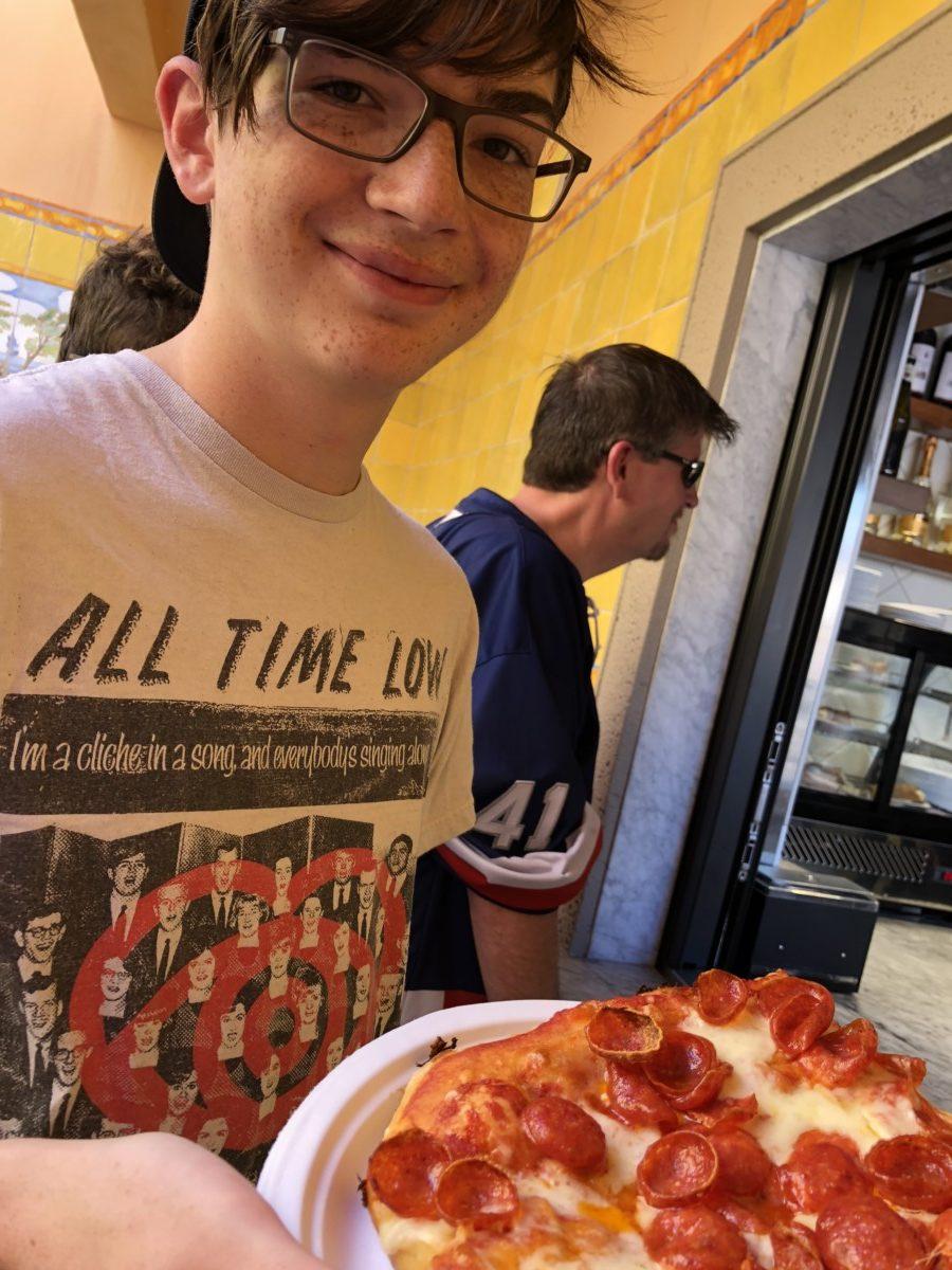 Pizza on the Go at Epcot at Pizza al Taglio! 5