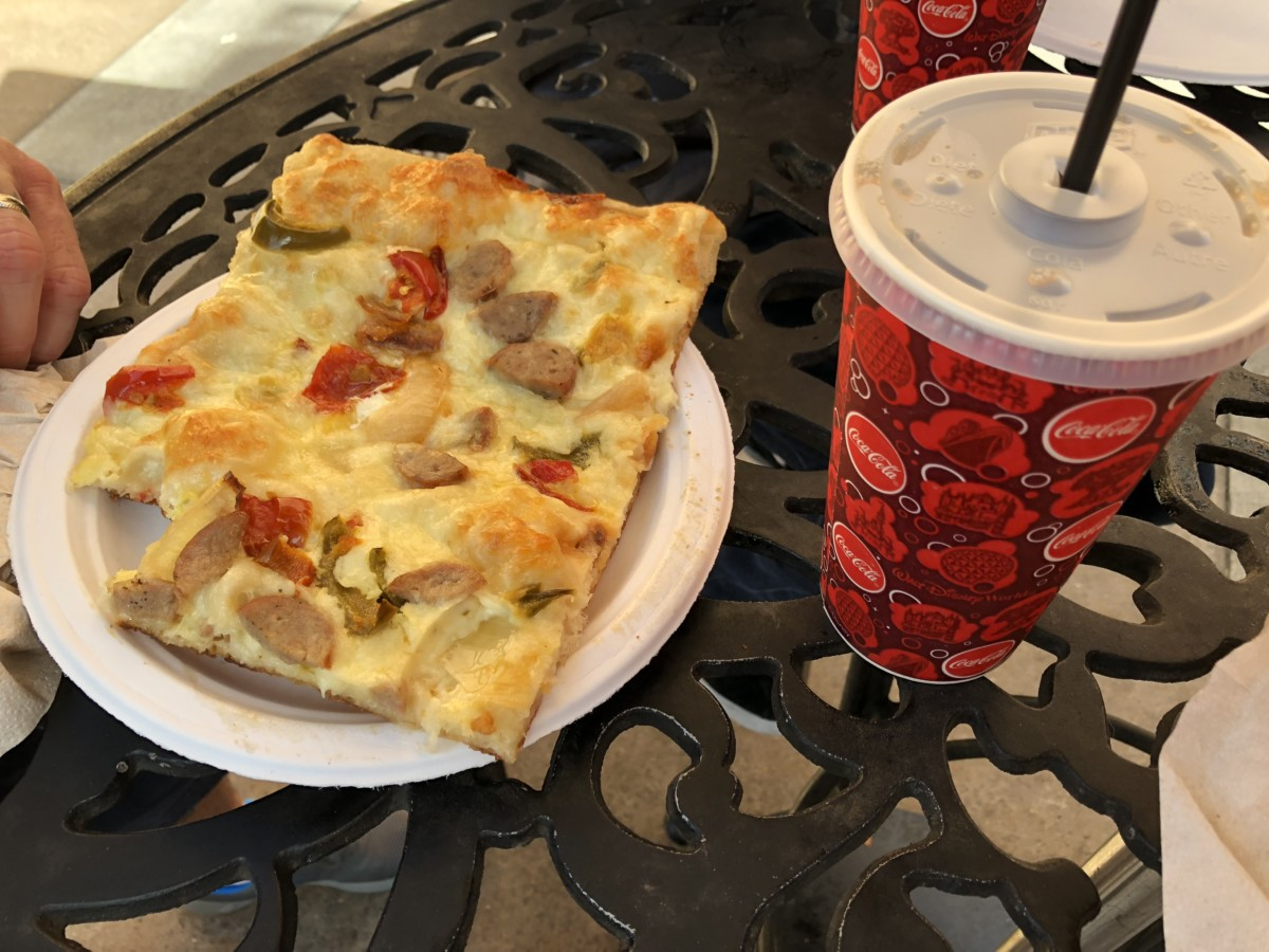 Pizza on the Go at Epcot at Pizza al Taglio! 1