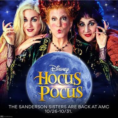 THE NIGHTMARE BEFORE CHRISTMAS, HOCUS POCUS & COCO - Returning to Theatres Next Weekend!!! 1