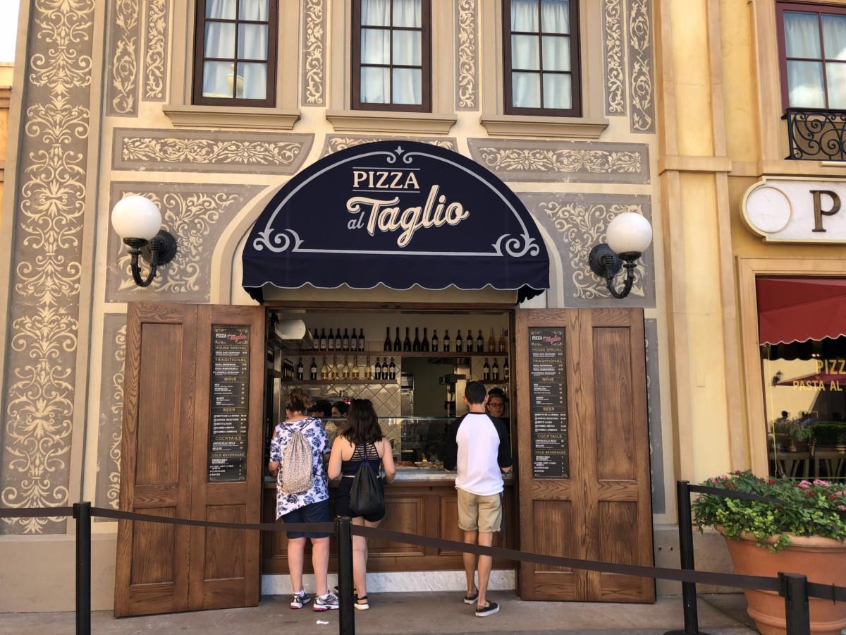 Pizza on the Go at Epcot at Pizza al Taglio! 2