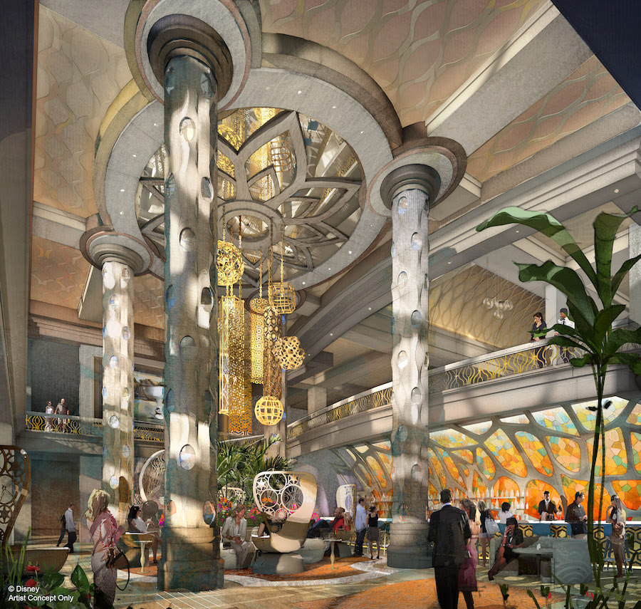 Check Out These Renderings of the New 15-Story Tower Rising at Disney's Coronado Springs Resort