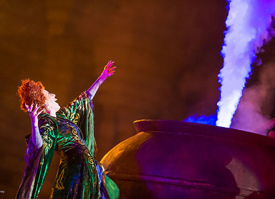 Run Amuck with Photos from the Hocus Pocus Villain Spelltacular at Magic Kingdom Park 1