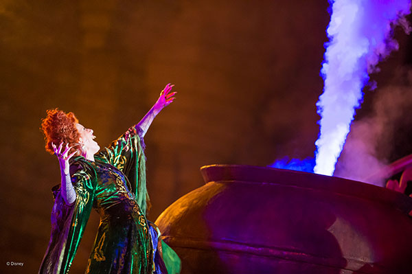 Run Amuck with Photos from the Hocus Pocus Villain Spelltacular at Magic Kingdom Park 2