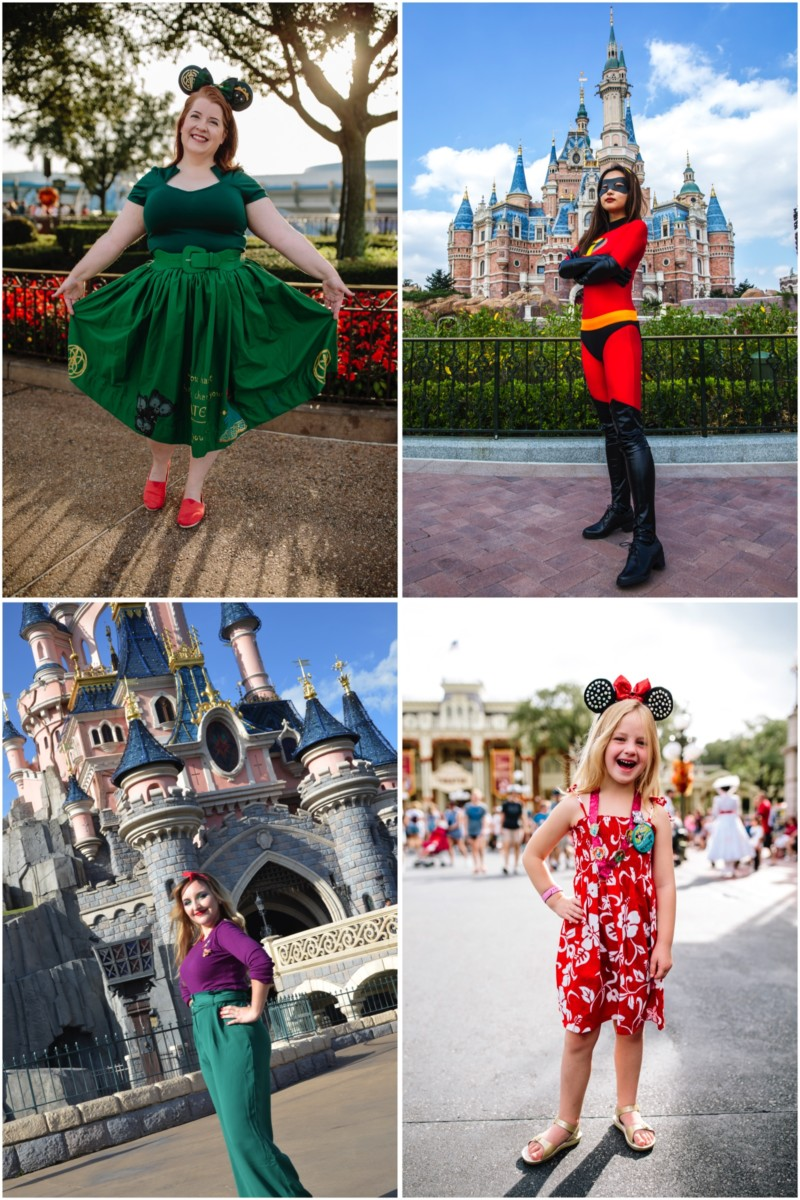 Disney Parks Guests Celebrate International Day Of The Girl With Disney Bound Looks 1