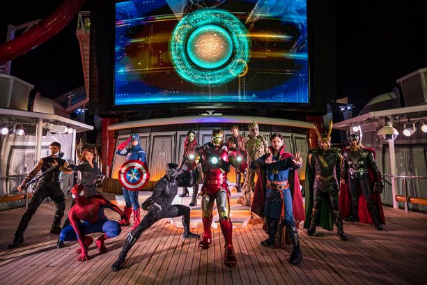Captain Marvel Joins Epic Line-Up of Super Heroes Aboard Disney Cruise Line 1