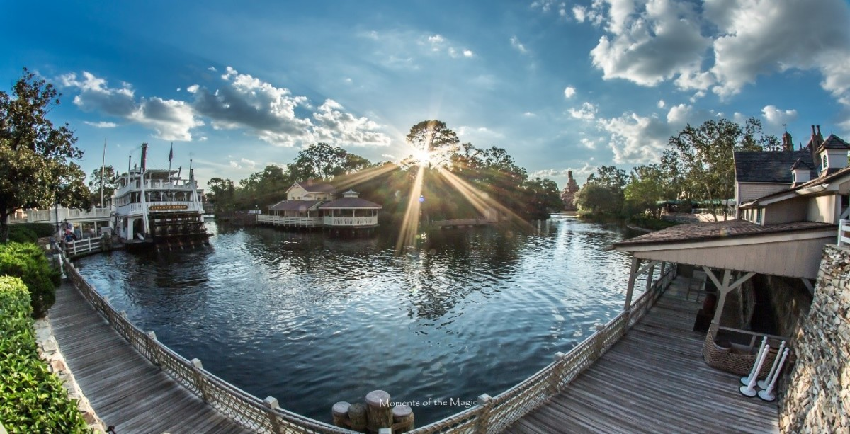 Top 5 Places in the Magic Kingdom to watch the sun set 5