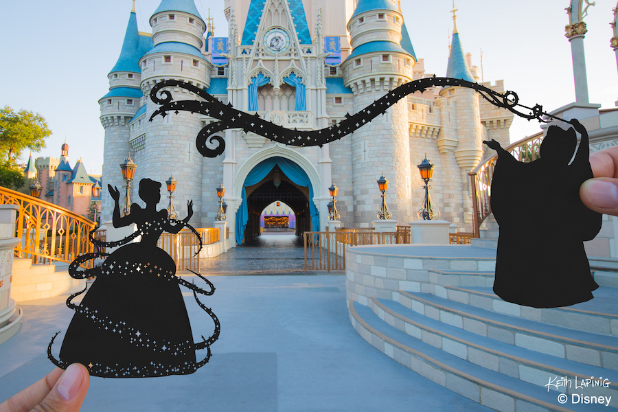 Disney Parks in Silhouette: A Simply Magical Kingdom 7
