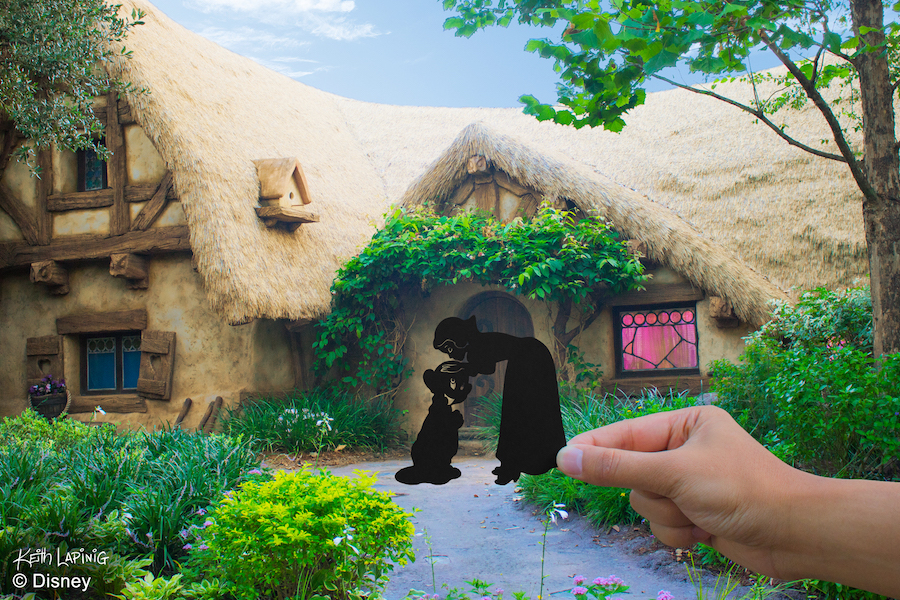 Disney Parks in Silhouette: A Simply Magical Kingdom 2