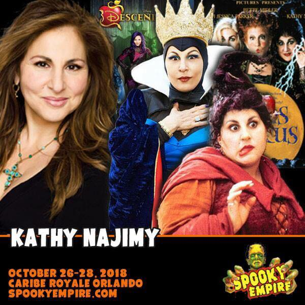 Come See Kathy Najimy (and us) at Spooky Empire! October 26 ~ 28! 22